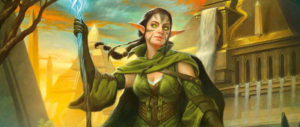 Nissa, Steward of Elements by Howard Lyon