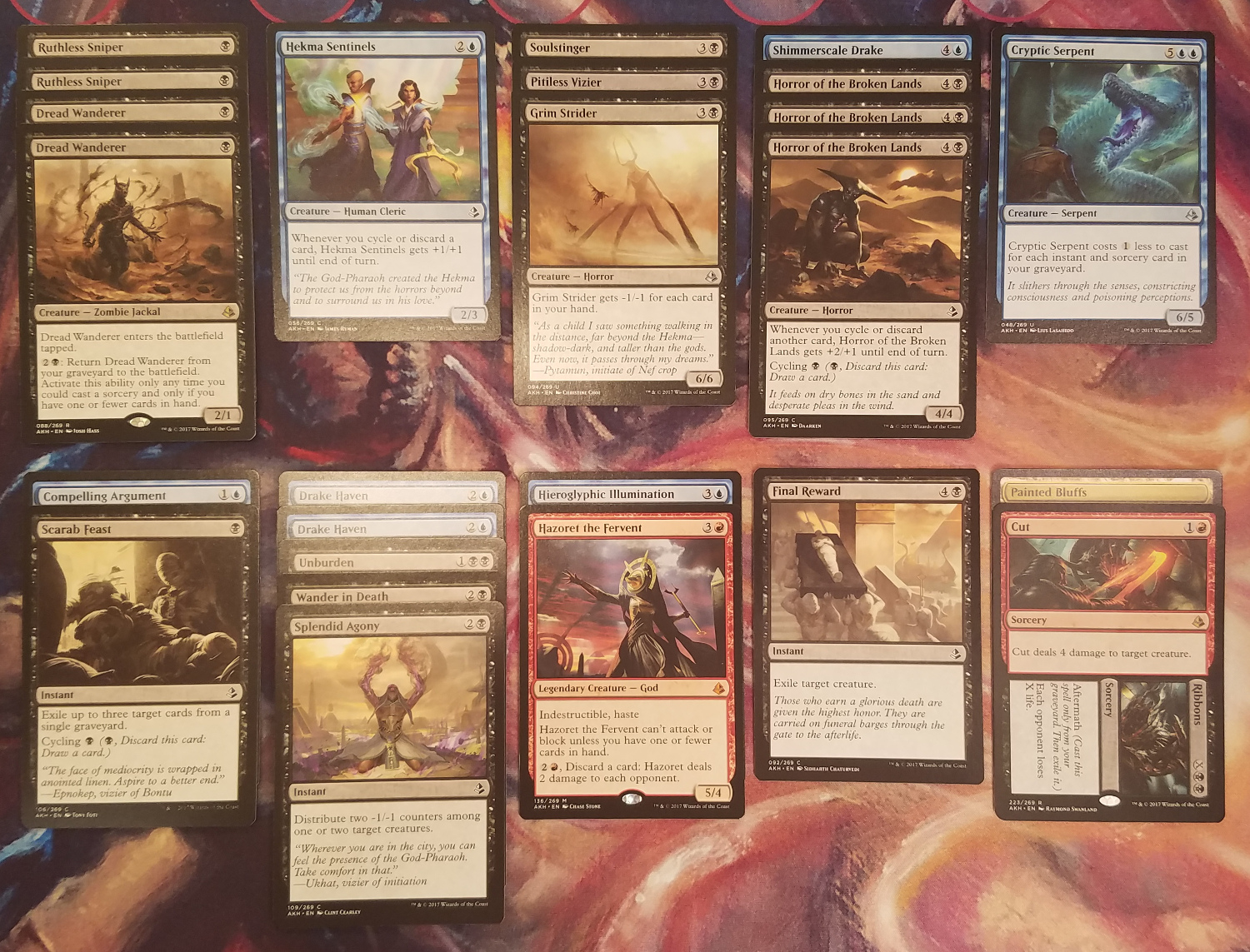 Amonkhet Draft - Grixis Cycling (6-2-2017)