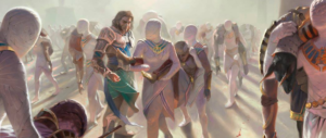Anointed Procession by Victor Adame Minguez