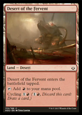 Desert of the Fervent Spoiler