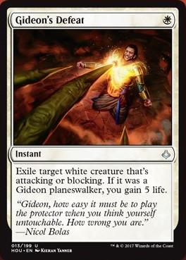 Gideon's Defeat Spoiler