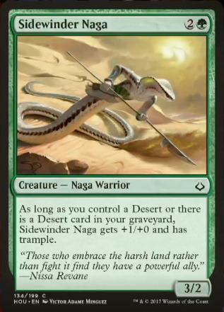 Sidewinder Naga Spoiler