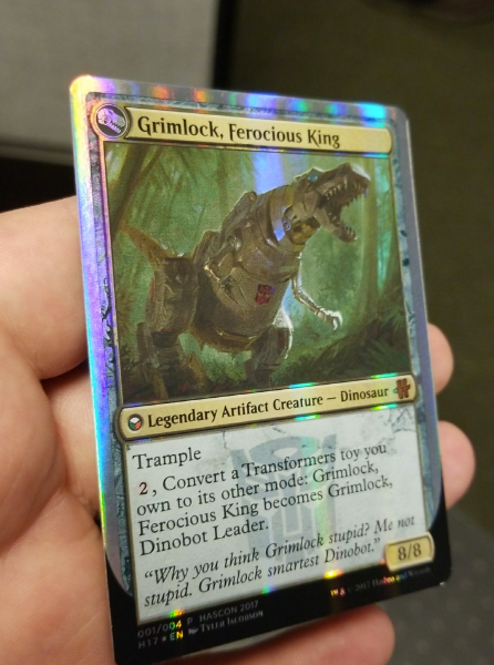 Grimlock, Ferocious King