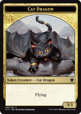 Cat Dragon Token
