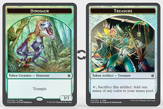 Dinosaur // Treasure Token