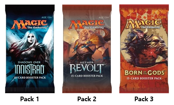 GP Indianapolis Chaos Draft Pack Order