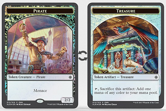 Pirate // Treasure Token
