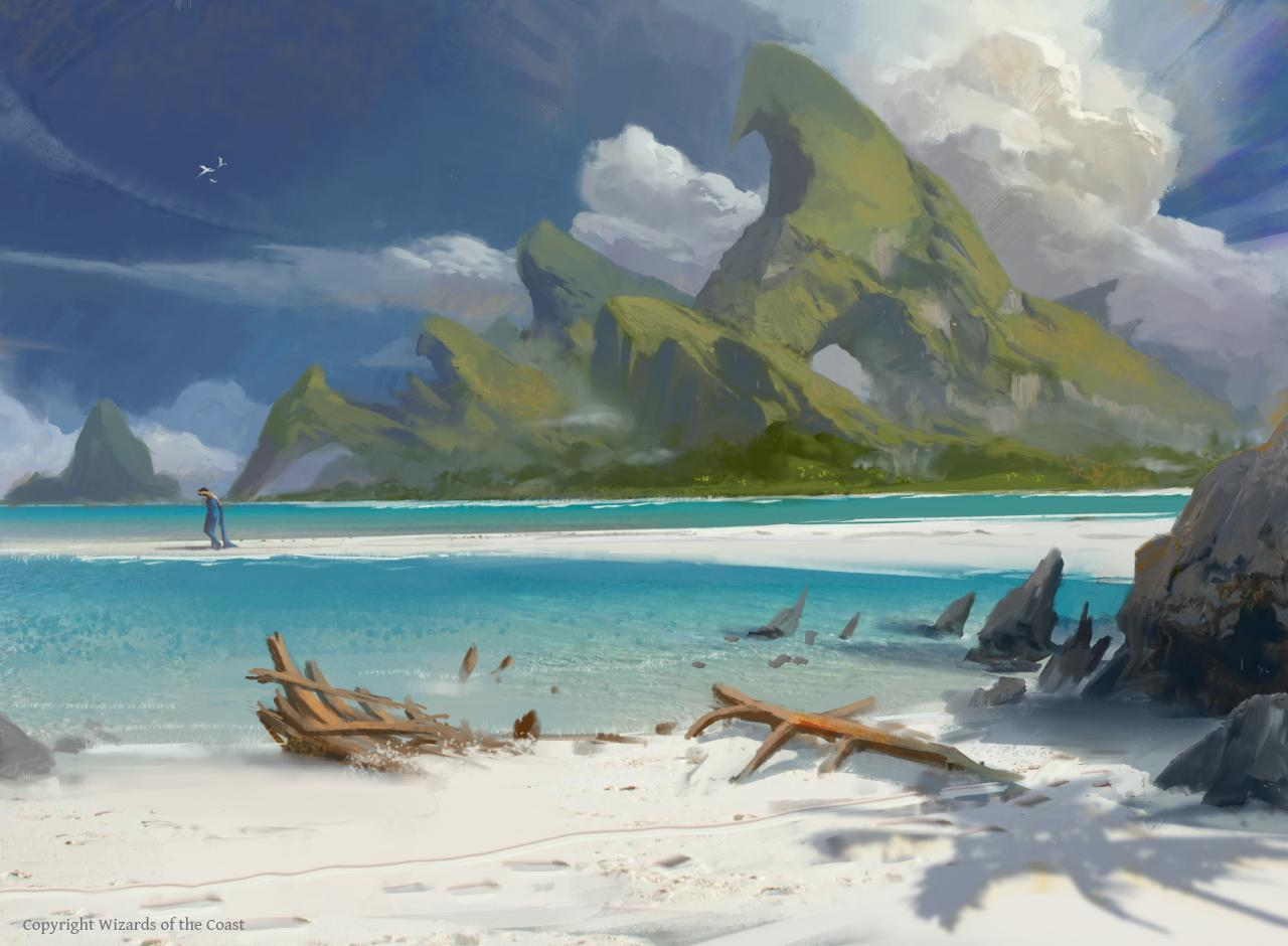 Ixalan Island by Titus Lunter