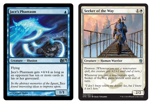 Jace's Phantasm & Seeker of the Way