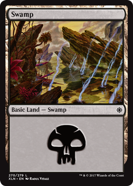 Ixalan Swamp by Raoul Vitale
