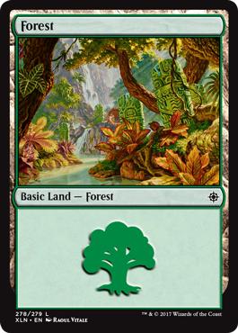 Ixalan Forest by Raoul Vitale