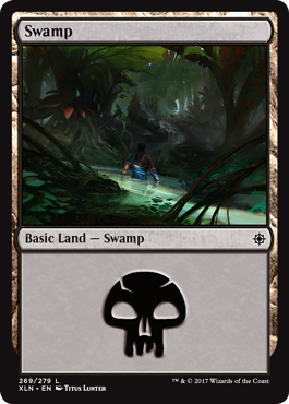 Ixalan Swamp by Titus Lunter
