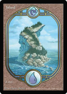 Unglued Full Art Island
