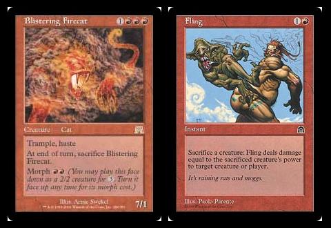 Blistering Firecat + Fling