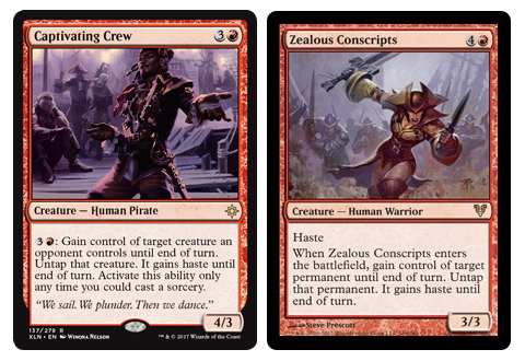 Captivating Crew + Zealous Conscripts