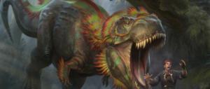 Charging Monstrosaur