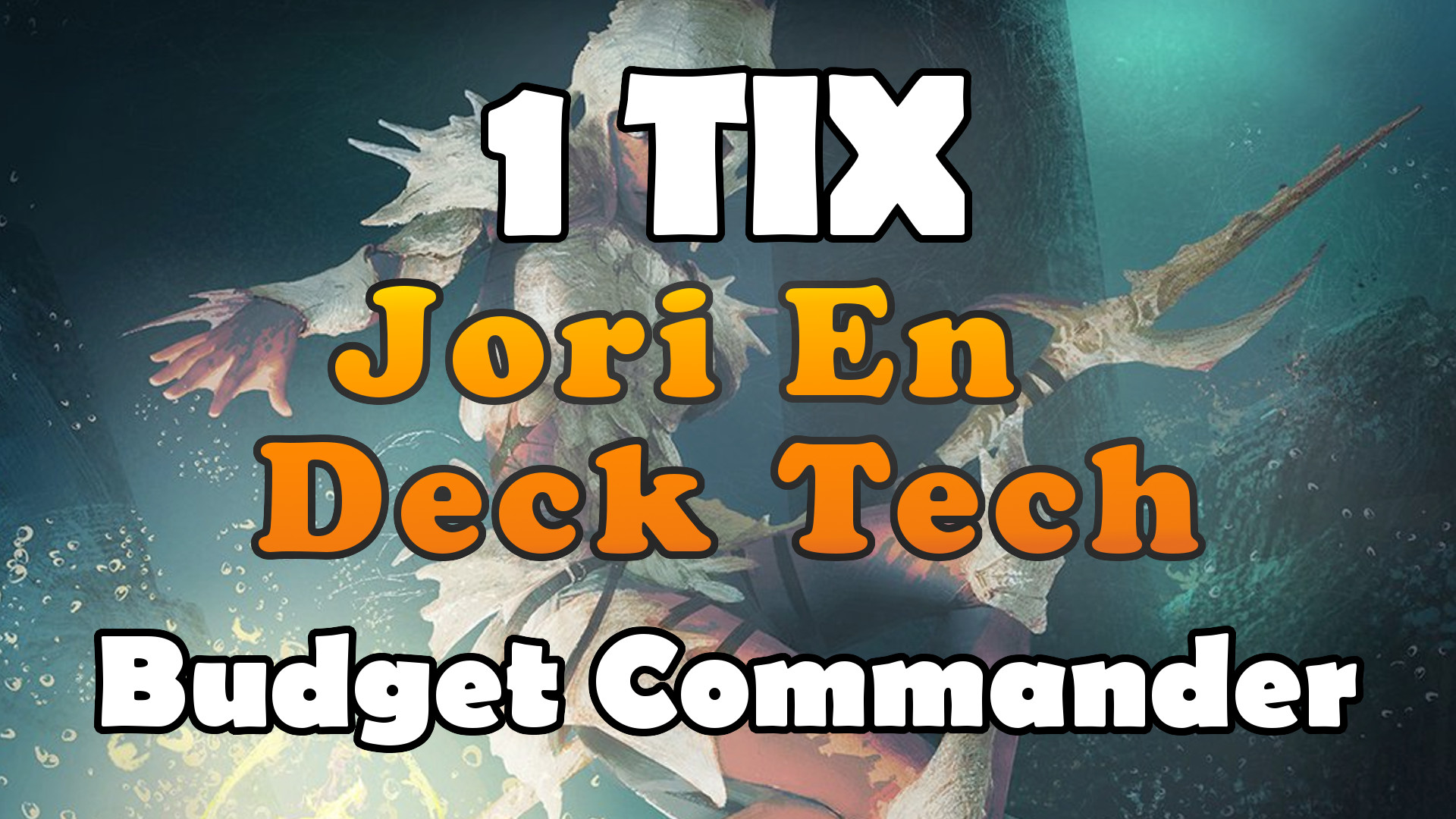 Jori En, Ruin Diver Commander Deck Tech