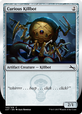 Killbot (A - Curious Killbot)