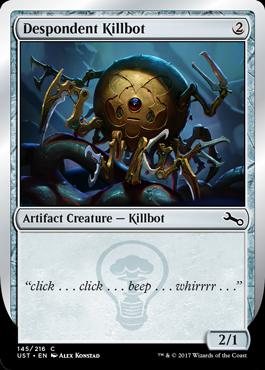 Killbot (C - Despondent Killbot)
