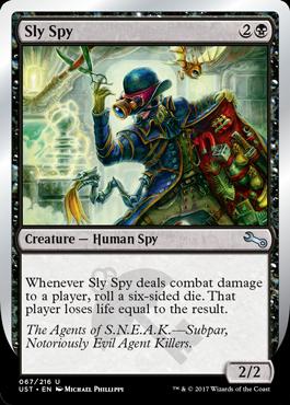 Sly Spy (F)