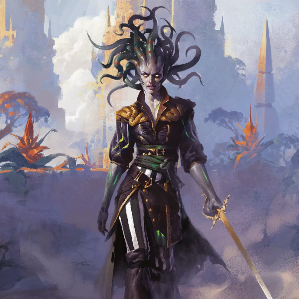 Vraska, Scheming Gorgon Full Art
