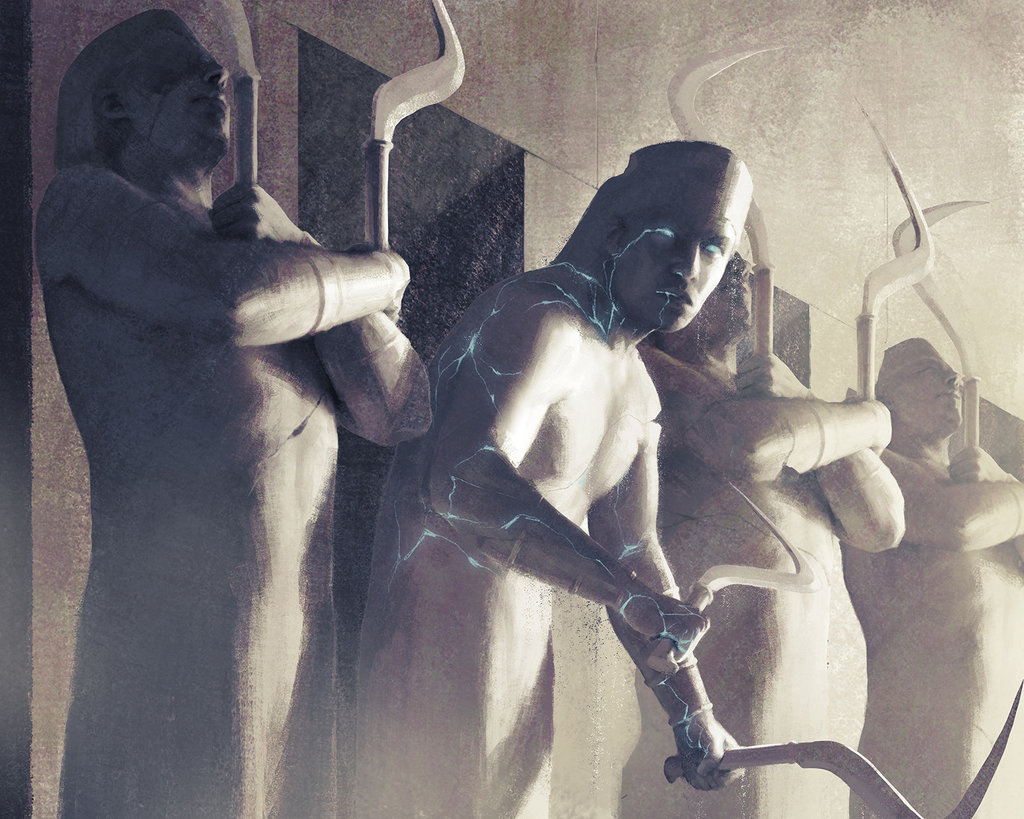 Wall of Forgotten Pharaohs by Igor Kieryluk